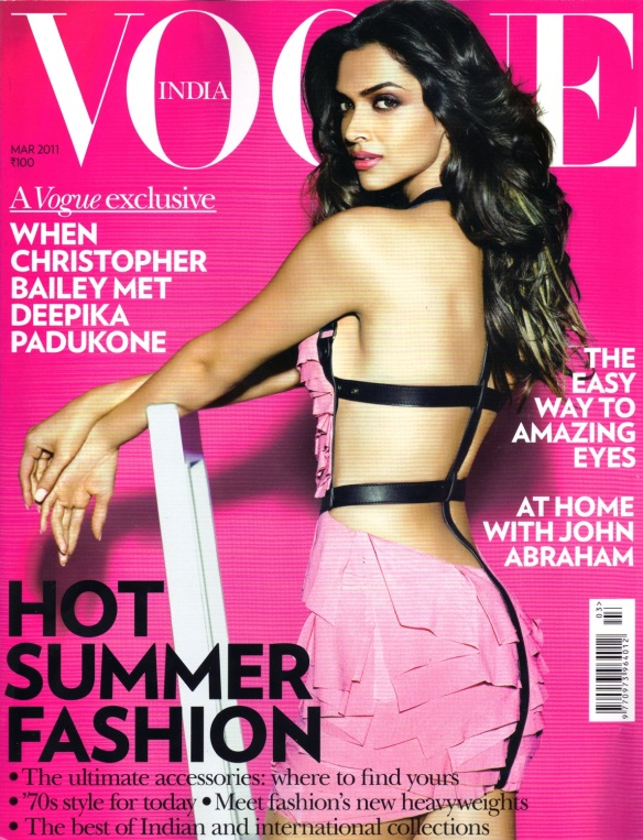 Vogue India March 2011 Cover