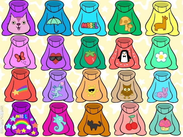 Mabel Pines Sweater Closet