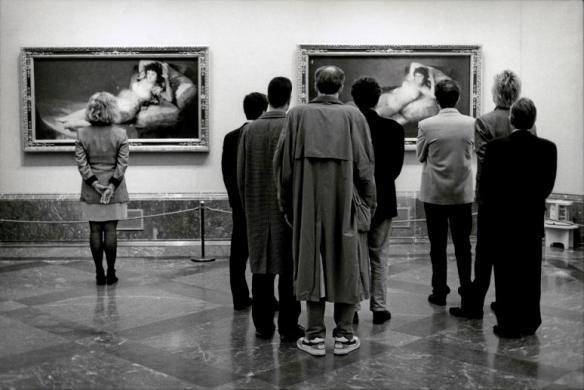 SPAIN. Madrid. 1995. Museo del Prado.