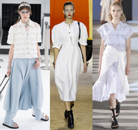 Слева направо: Chanel, Celine, Cedric Charlier