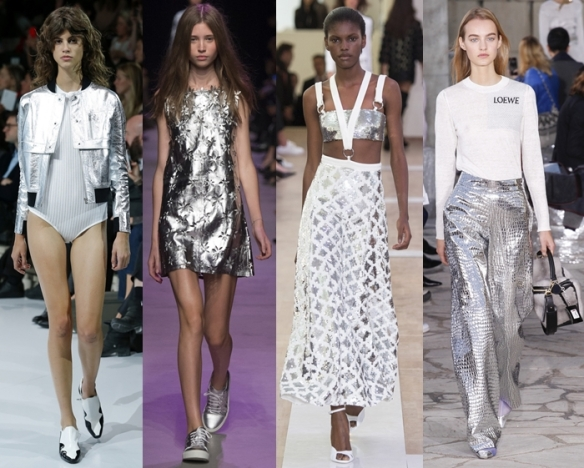 Слева направо: Courreges, Paul & Joe, Emanuel Ungaro, Loewe