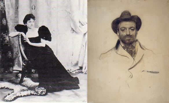 Мися и Хосе-Мария Серт