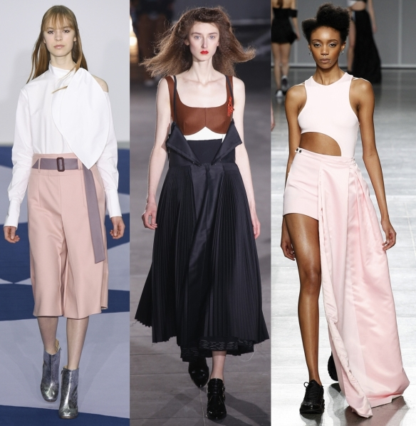 Слева направо: Eudon Choi, Joseph, Fashion East
