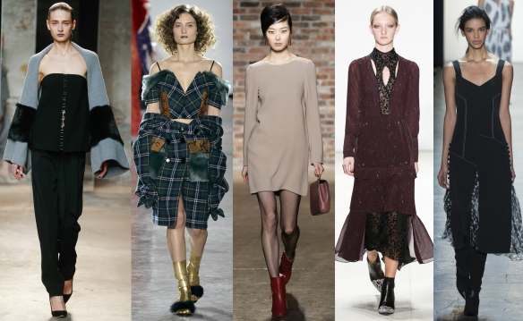 Слева направо: Sally LaPointe,  VFiles,  Maiyet, Yuigal Azrouel, Prabal Gurung