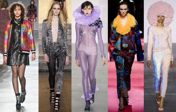 Слева направо: Hause of Holland, Julien Macdonald, Sibling,  Marcues' Almeida, Ashish