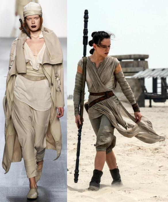 "Слева направо: Nicholas K, Rey ""Star Wars ep.7"""