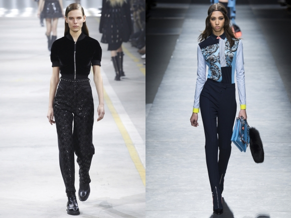 Слева направо: Diesel Black Gold, Versace