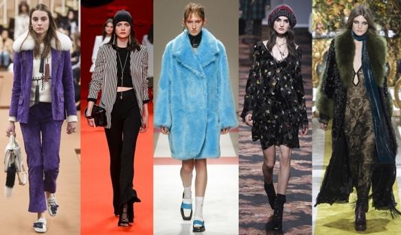 Слева направо: Tod's, Elisabetta Franchi, Iceberg, Etro, Roberto Cavalli