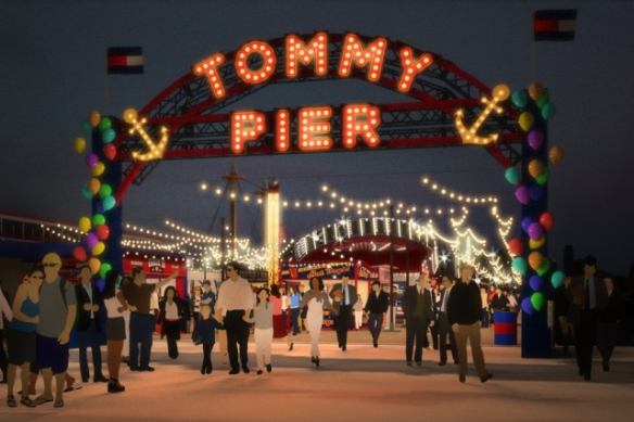Gigi Hadid and Tommy Hilfiger will show TommyxGigi at Pier 16 in South Street Seaport on Friday, Sept. 9.