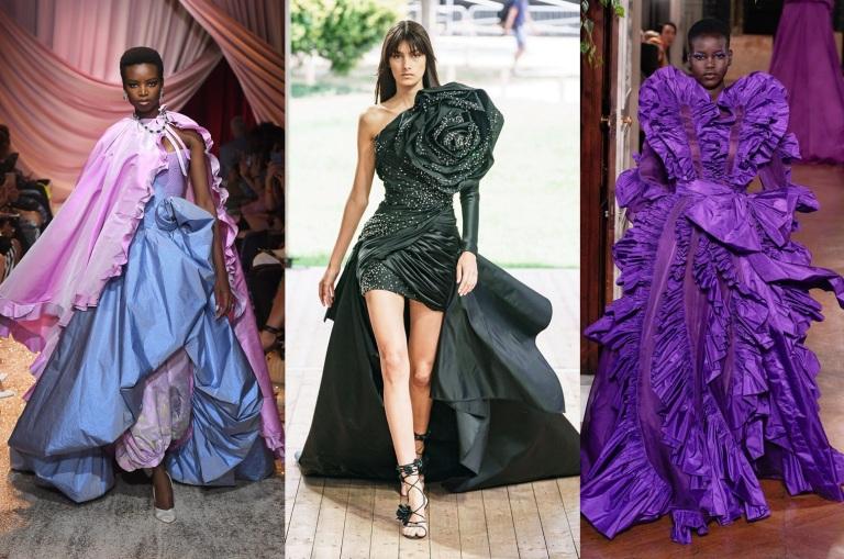 Ulyana Sergeenko : Runway - Paris Fashion Week - Haute Couture Fall/Winter 2019/2020